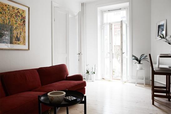 Vardagsrum Döbelnsgatan Fantastic Frank Fastighetsmäkleri