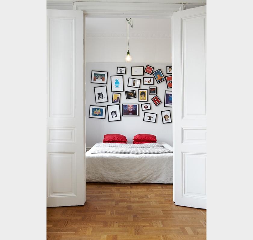 Sovrum pardörr Fantastic Frank