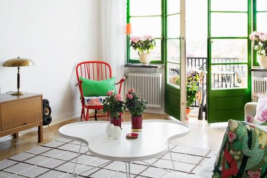 Green door Fantastic Frank Stockholm
