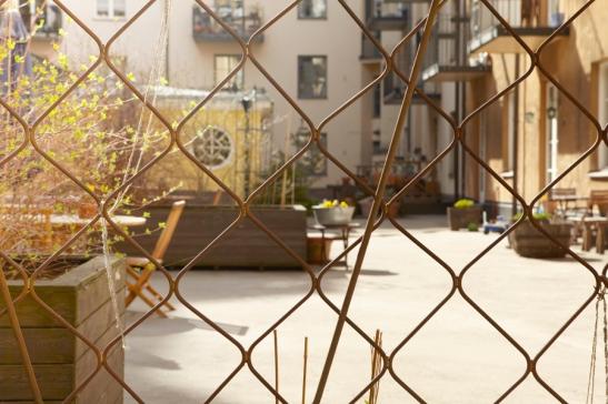Innergård Fantastic Frank Stockholm