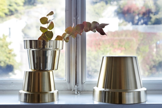 Skultuna Pot Brass Living Room