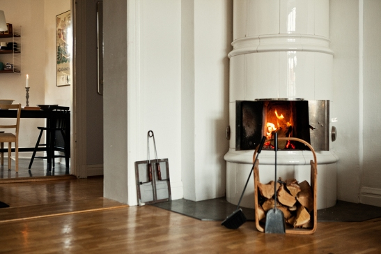 Fantastic Frank fire place