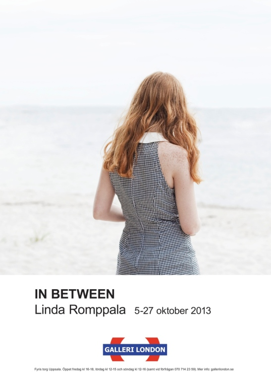 Linda Romppala In between poster.indd