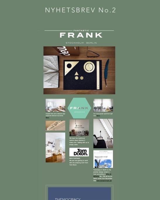 Nyhetsbrev Fantastic Frank