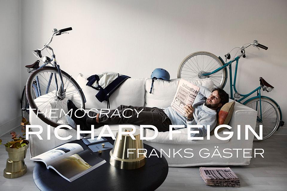 FRANKS GÄSTER presenterar: Richard Feigin/THEMOCRACY