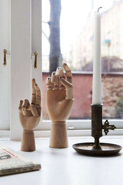 korsade fingrar