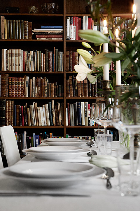 middag bibliotek