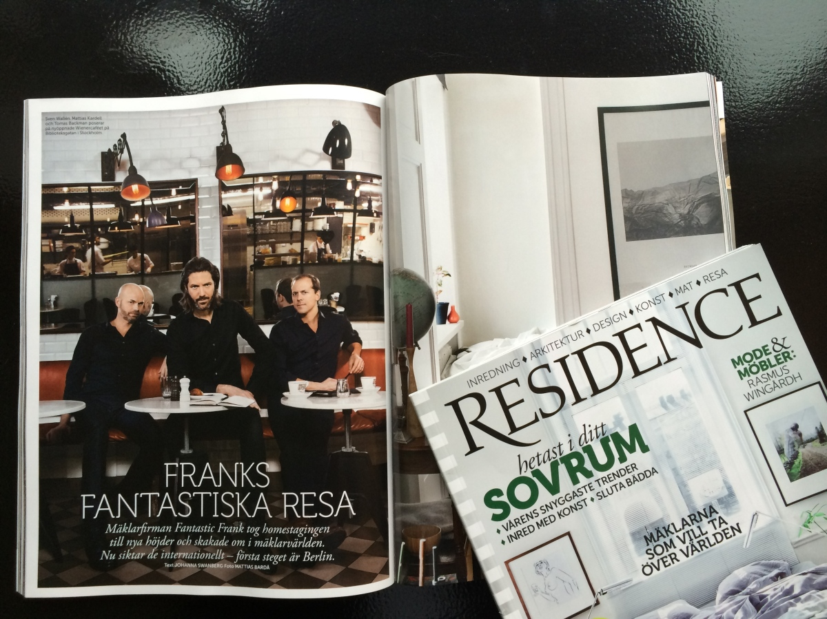 Fantastic Frank the Story: Residence no.22014
