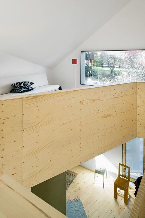 arkitektur skandinavisk takhöjd