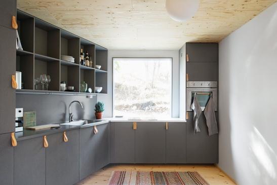 Asketisk lyx. Arkitektur med kärlek till plywood.  Fantastic Franks ...