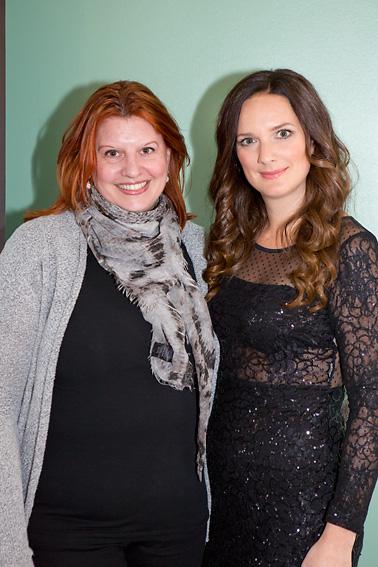 Simona Ahrnstedt och Sofie