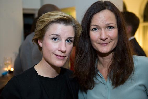 Sofie Ganeva och Mona Åström från Gulled