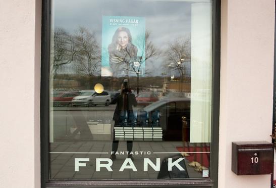 Sofie Sarenbrant releasefest hos Fantastic Frank