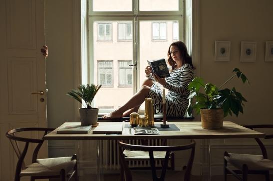 Sofie Sarenbrant Visning pågår med Fastighetsmäklare Fantastic Frank