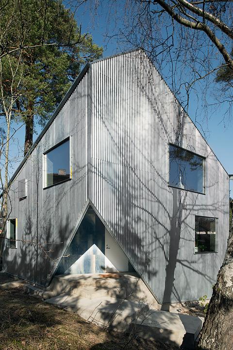 villa arkitektur skandinavisk