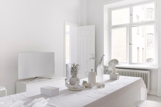 white living room stockholm