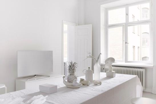 white living room stockholm