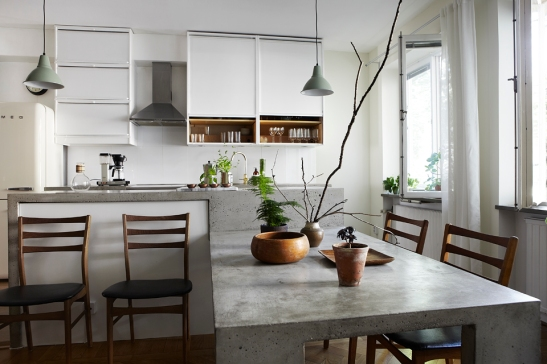 Köksbord betong Stockholm