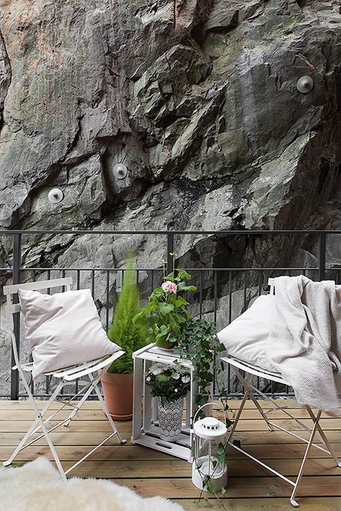 Balkong Kvarnholmen
