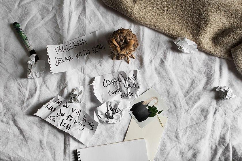 dikt säng