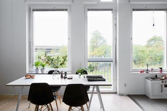 matbord stolar Eames