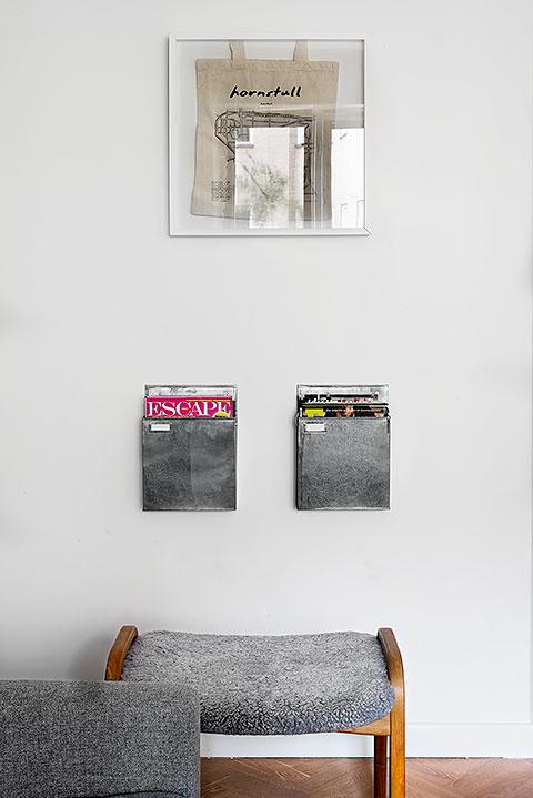 vägg tidningar dekoration