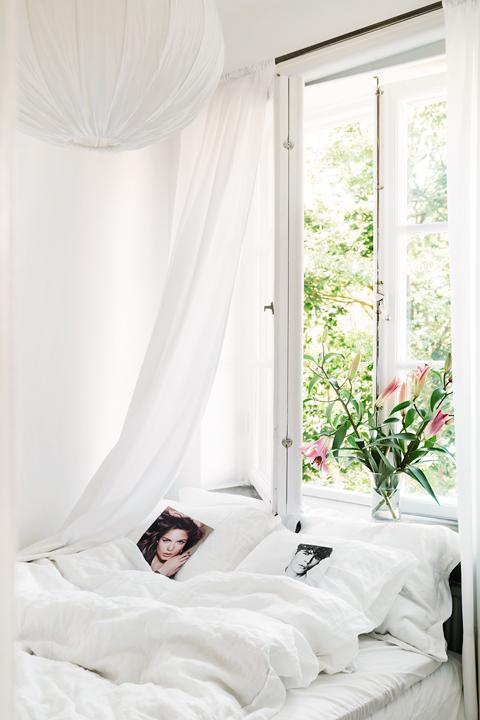 Sovrum blommor