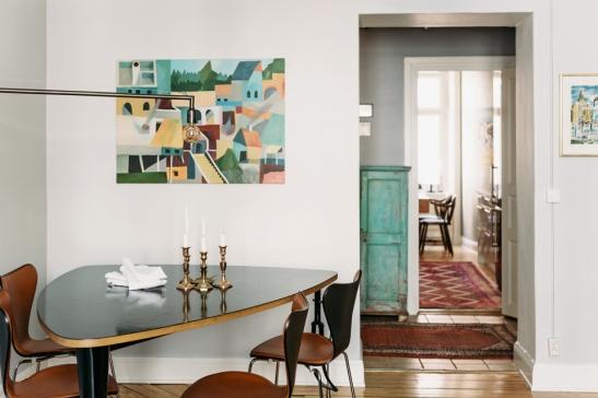 matbord design stolar konst