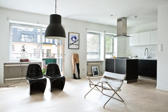 vardagsrum Bauhaus konst