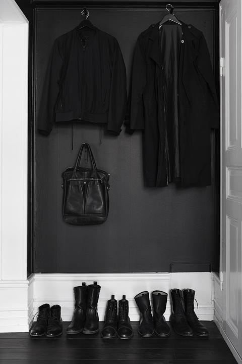 Garderob svart