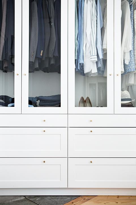 garderob glasdörrar sovrum