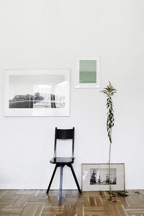 konst design stol