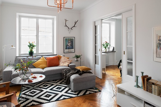 vardagsrum matta soffmöbler