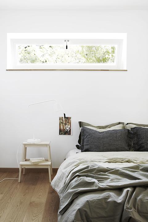 Sovrum sängkläder Dirty Linen Fiskarhedenvillan
