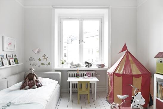 Barnsäng tält sovrum