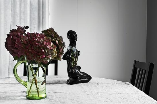 Konst badrum blomma konst