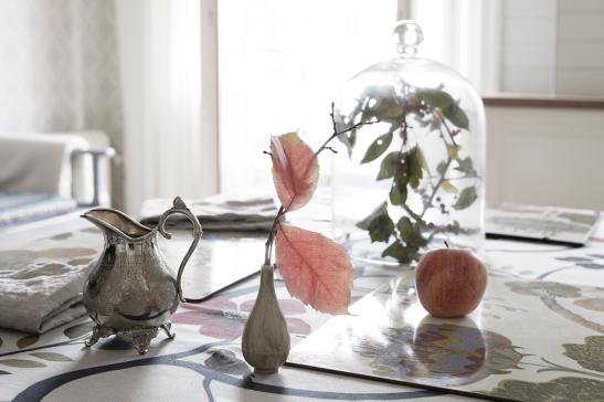 Växt glaskupa köksbord