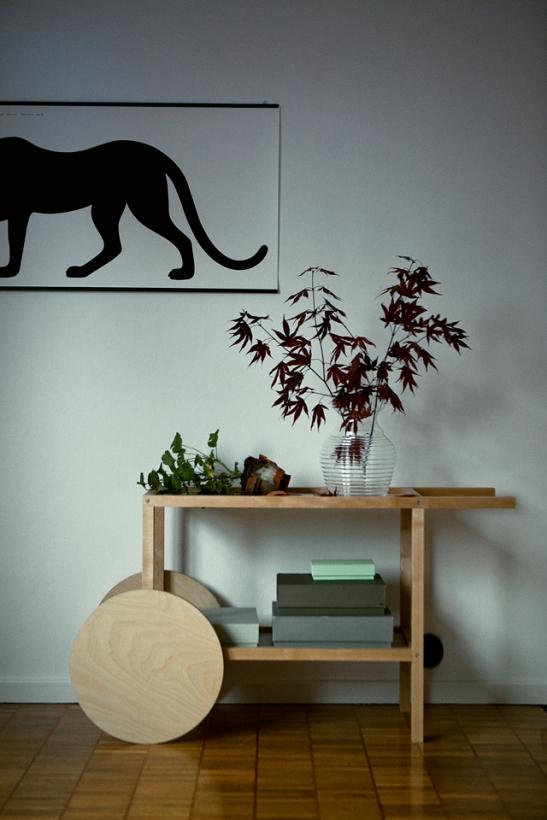 Sideboard blomma konst