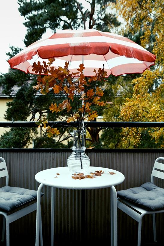 Balkong parasoll balkongmöbler