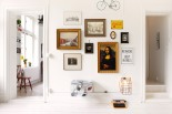 Vardagsrum konst vintageram