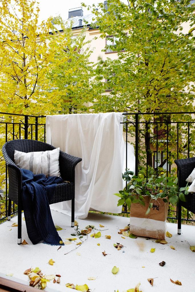 Balkong balkongmöbler