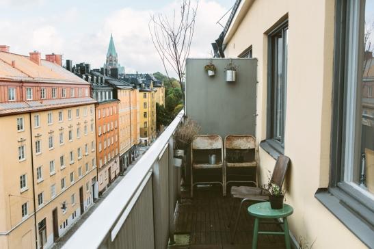 Balkong rost romantisk balkongmöbler