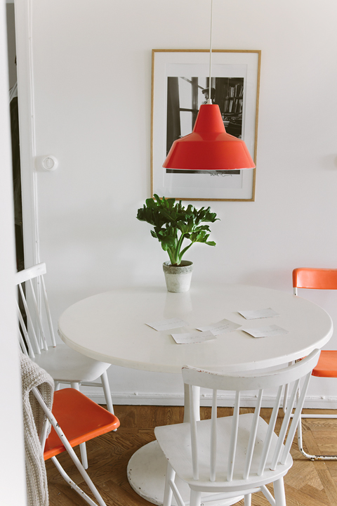 Matbord lampa kök