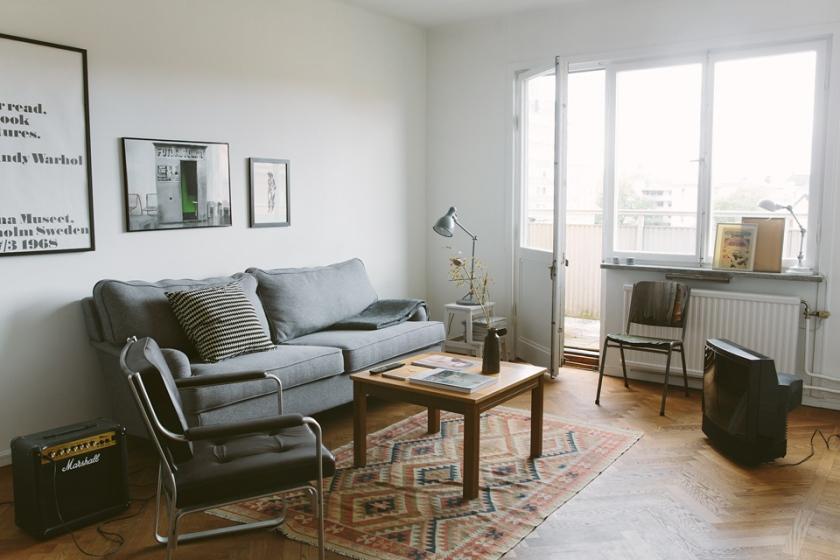 Vardagsrum soffa konst soffmöbler