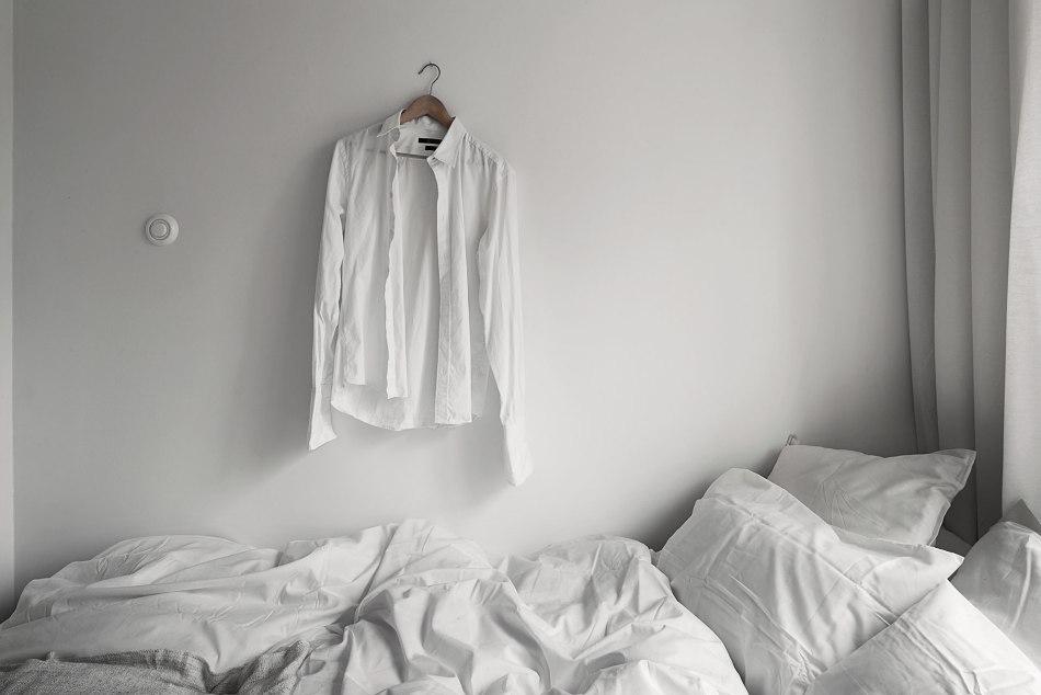 Säng skjorta sängkläder