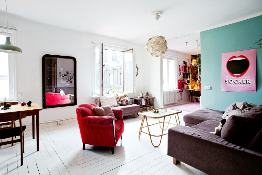 Living room Isabelle McAllister Fantastic Frank
