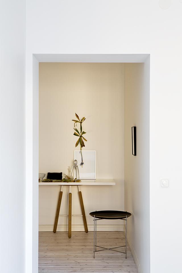 Hall sideboard växt