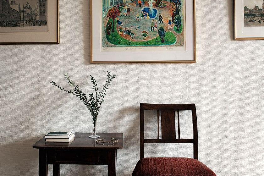 Konst stol