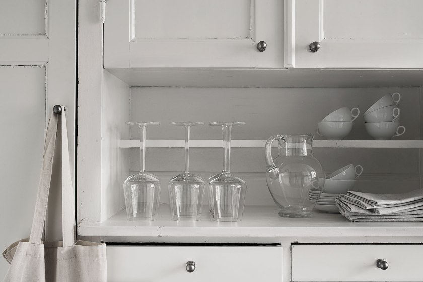 Köksskåp vinglas