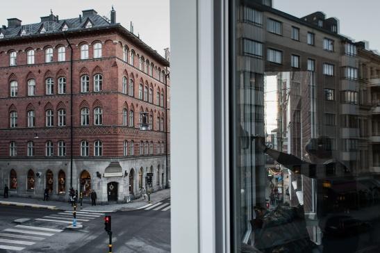Utsikt Östermalm fönster